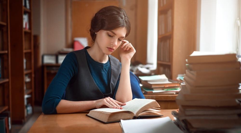 Kobieta na studiach