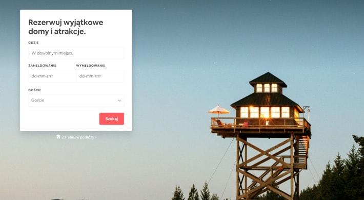 airbnb-strona